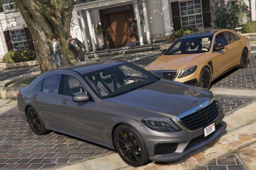 80782e mercedes s63 w222 by gta5korn